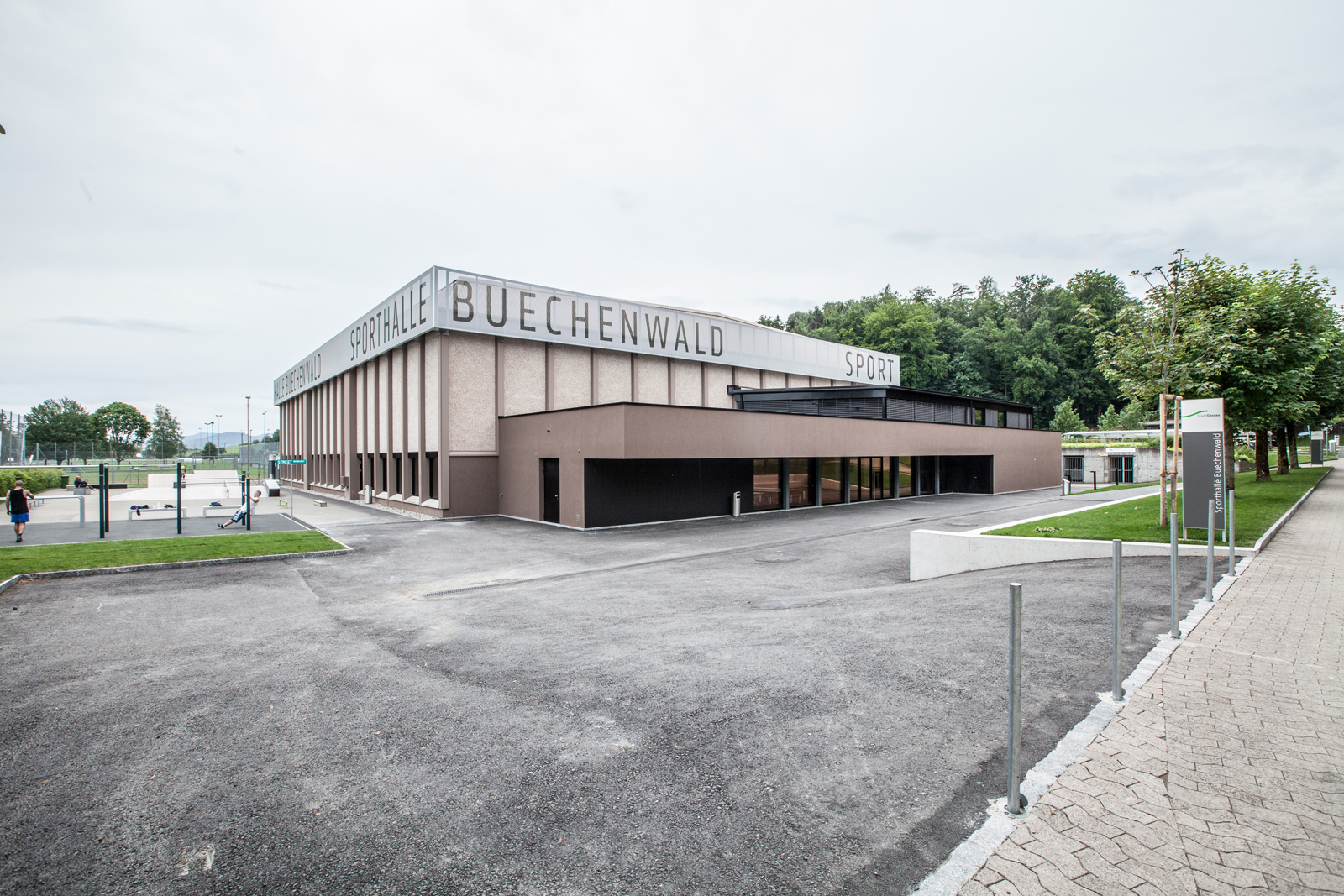 Sporthalle Buechenwald Gossau